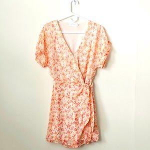 NWOT Nodstrom Simone Floral Wrap Dress size:S